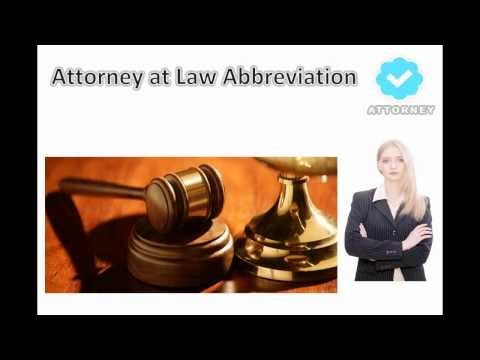 What is ATTORNEY AT LAW? définition of ATTORNEY AT LAW!
