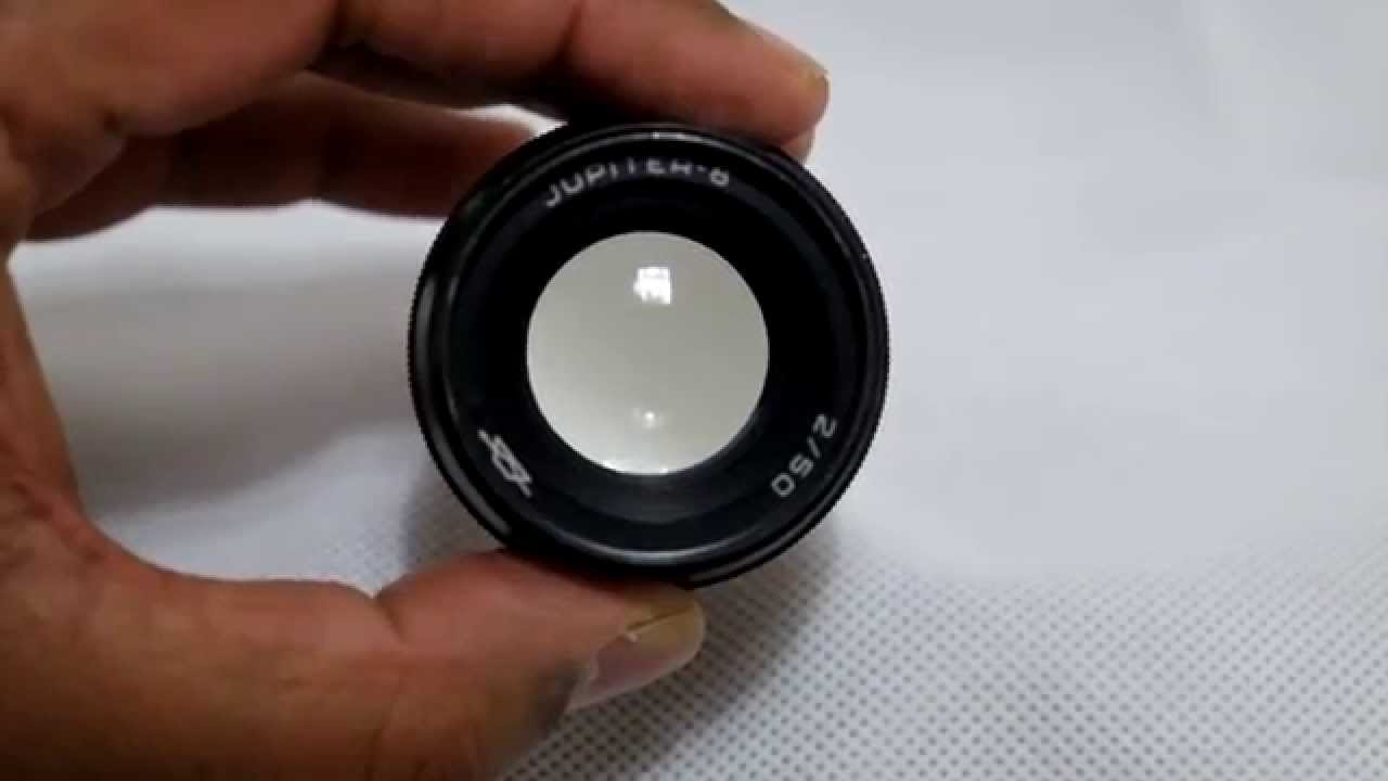 Jupiter 8 50mm F2 lens with Fuji XE2
