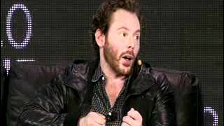 Sean Parker, co-founder of Napster and Facebook, speaks on the future of data sharing.