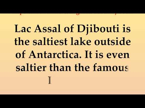 Important and Interesting facts about Djibouti