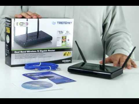 Spotlight: 300Mbps Dual Band Wireless N Gigabit Router TEW-672GR (802.11n) TRENDnet TV