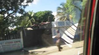 Drive from airport to central Cap-Haitien, Haiti