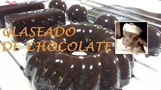 glaseado de chocolate   tonino de deja sitio para el postre