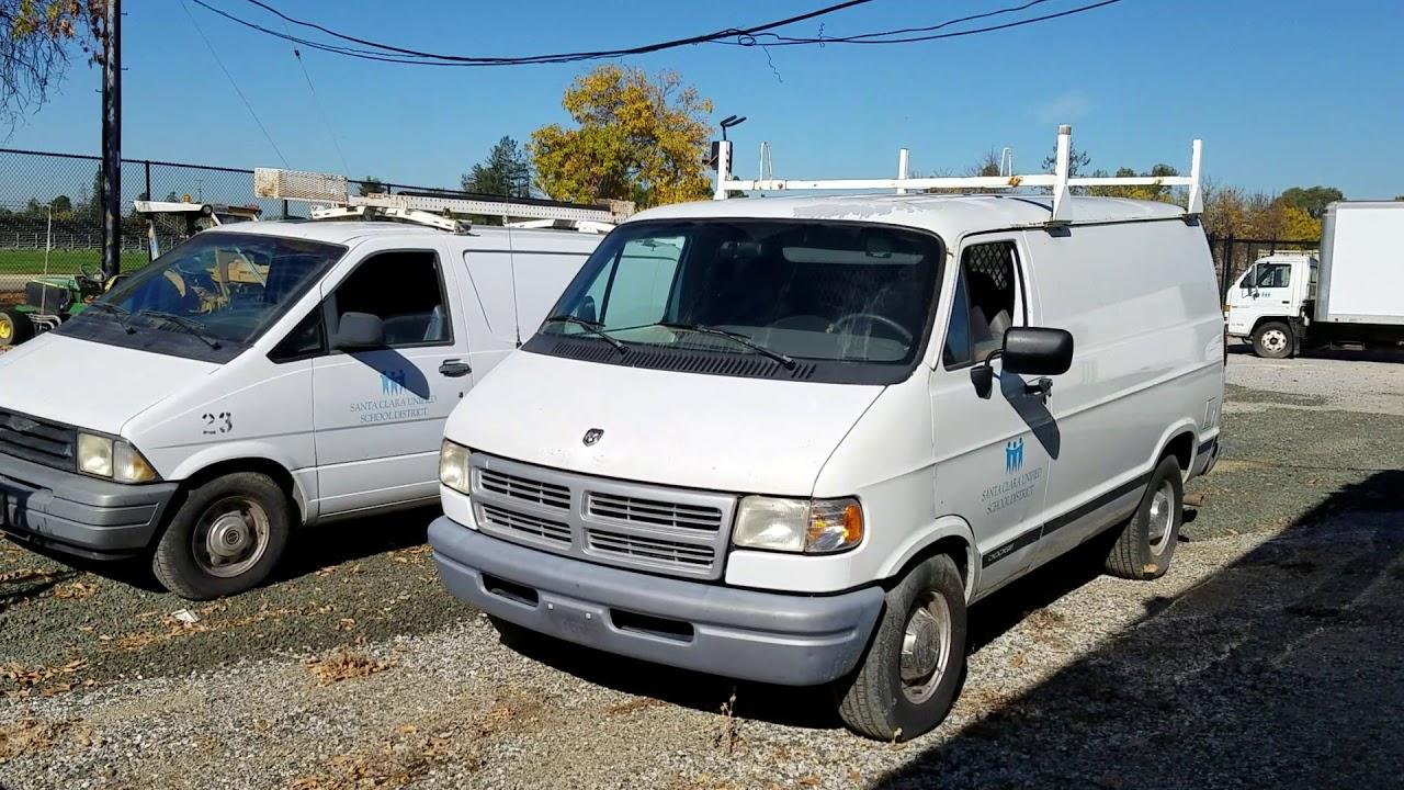 Govdeals 1997 Dodge Ram Van 1500