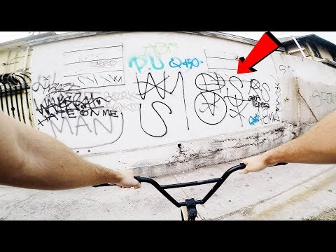 RIDING BMX IN LA COMPTON GANG ZONES 5 (CRIPS & BLOODS)