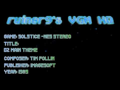 Solstice -NES Stereo 02 Main Theme - YouTube