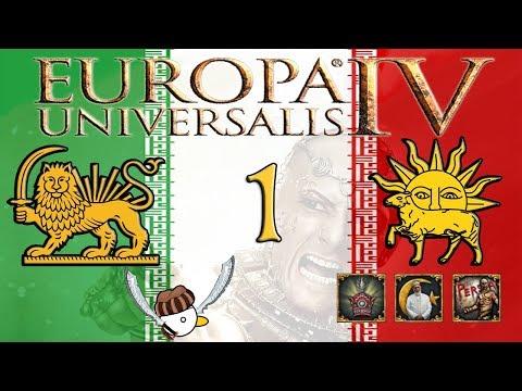 PERSIA RIVOLUZIONARIA - Europa Universalis IV - Cradle of Civilization [Gameplay ITA] #1