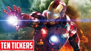 Top 10 Iron Man Facts | Ten Tickers Characters