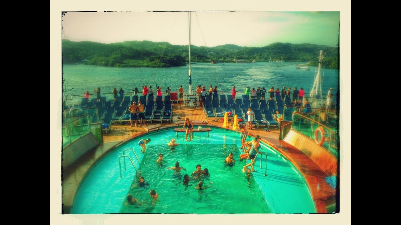 Carnival Cruise 2016 Mahogany Bay Roatan Honduras Part