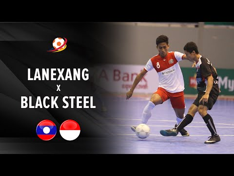 Highlight: Lanexang Laos vs Black Steel Indonesia (7-13) : AFF Futsal Club 2016