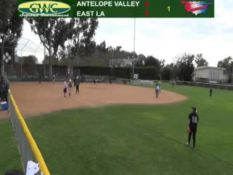 Golden West Softball Tournament - East LA vs Antelope Valley
