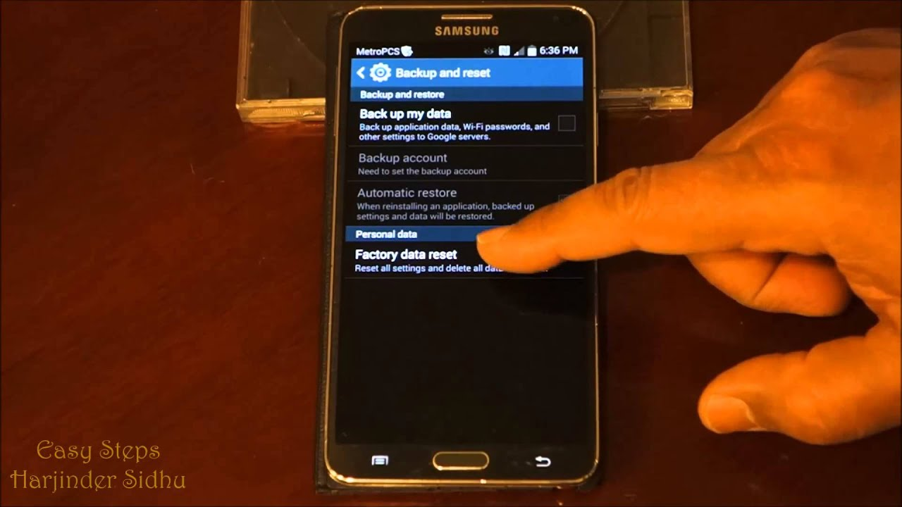 How to reset samsung galaxy note 3 soft reset factory settings how to reset samsung galaxy note 3 soft reset factory settings original settings youtube ccuart Gallery