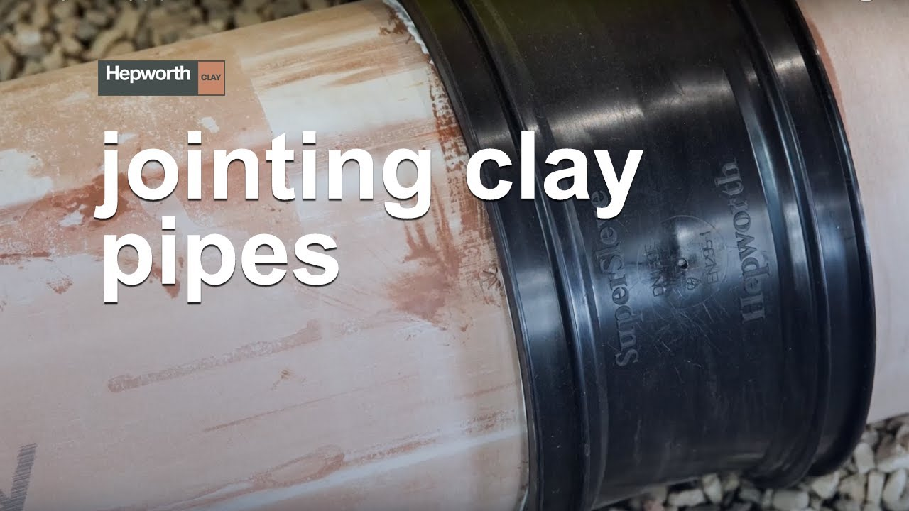 Hepworth Clay pipes and fittings