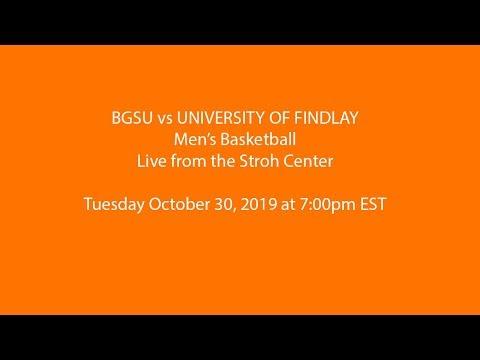 Men's Basketball: BGSU Vs Findlay (Exhibition)