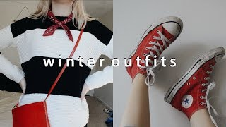 winter outfits of the week 2017