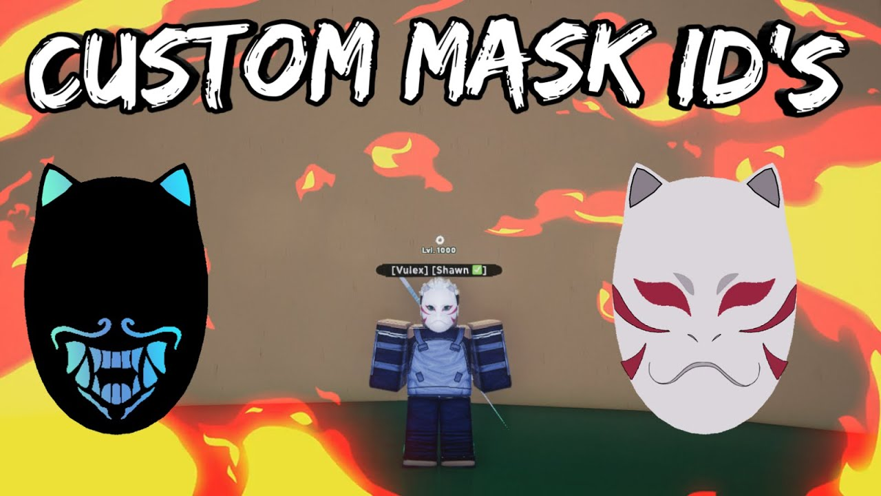 Shindo Life 2 Mask Id Codes : Roblox How To Get The Bear ...