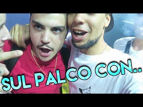 SUL PALCO CON TEDUA, DPG, SFERA EBBASTA, CROMO  & YOUNG SLASH