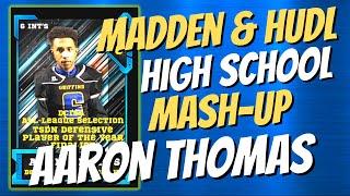 Aaron Thomas Madden Hudl Mashup Bell High School DCIAA