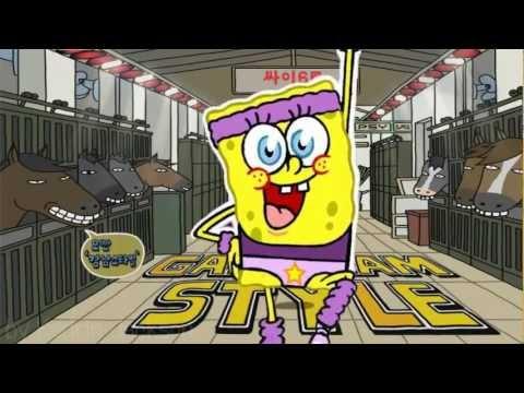 PSY - Gangnam style Sponge bob parody