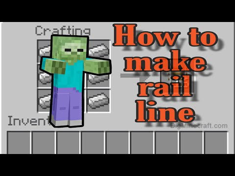 how-to-make-rail-line-in-minecraft