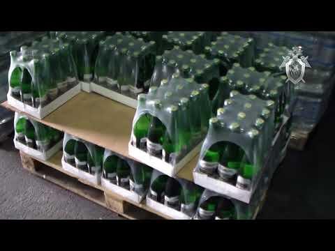В Ставропольском крае пресечена производство контрафактной минеральной воды