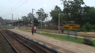 MAOIST AFFECTED AREA, JHARGRAM : ONBOARD MUMBAI - HOWRAH DURONTO