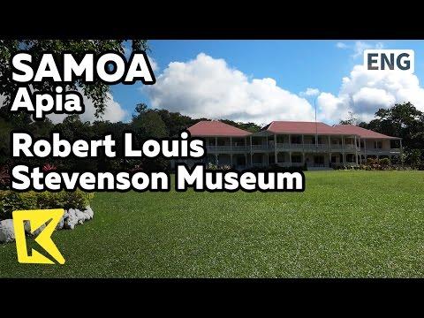 【K】Samoa Travel-Apia[사모아 여행-아피아]로버트 루이스 스티븐슨 박물관/Robert Louis Stevenson Museum/Library