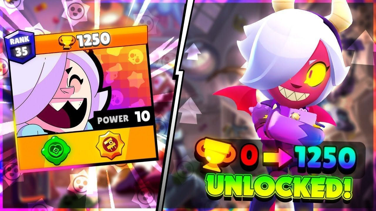 COLETTE 0 To 1250 TROPHIES! Unlocking EVERYTHING In Brawl Pass with Code ASHBS