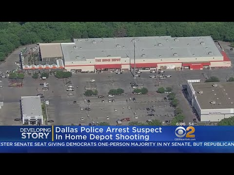 Dallas Police Arrest Suspect In Home Depot Shooting
