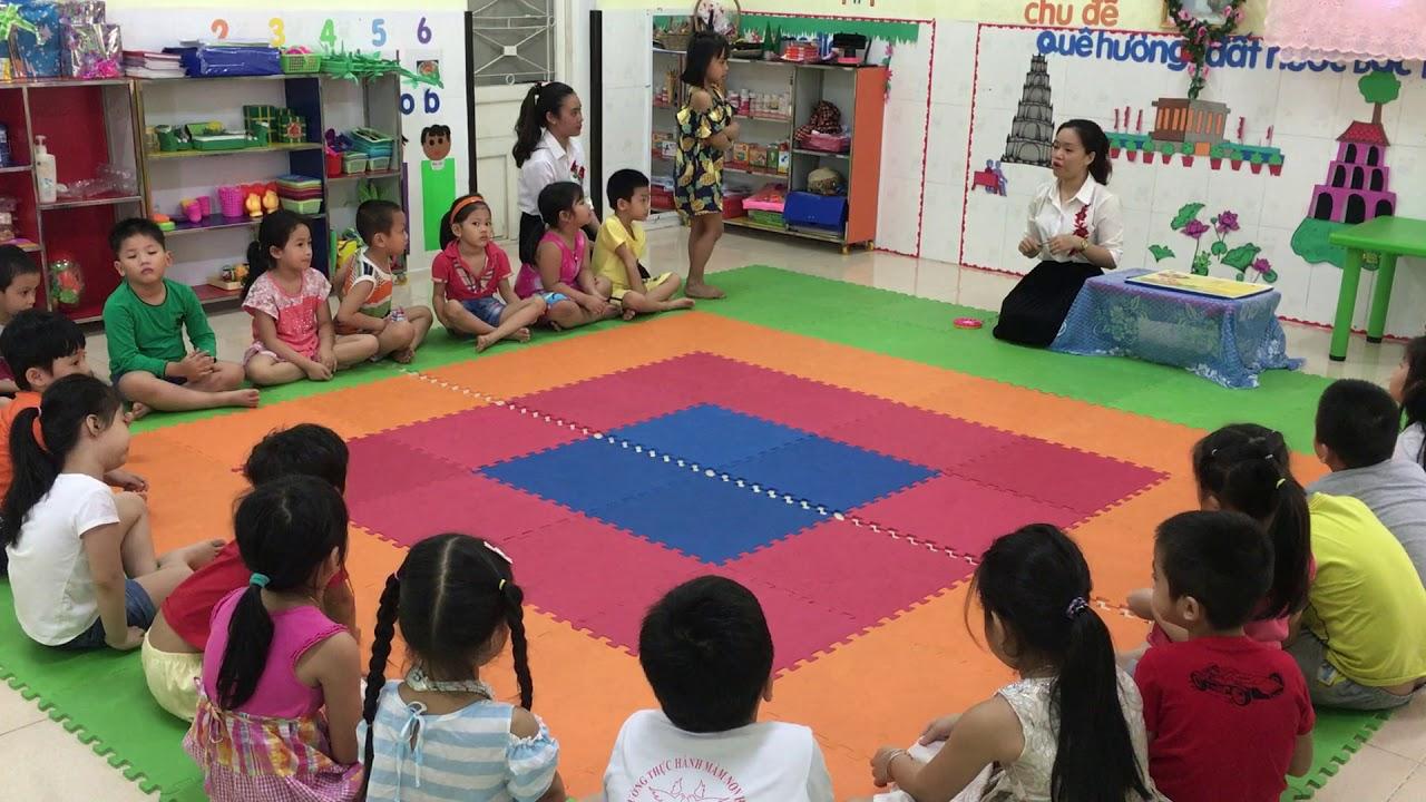 Tiết tạo hình lớp 5-6 tuổi