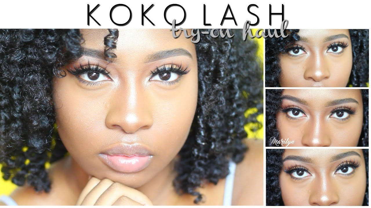 KOKO Lashes Try - On Haul | Cute and Affordable AF