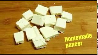 How to make Panner at home!! Homemade Panner || indian Cottage cheese  recipe ||