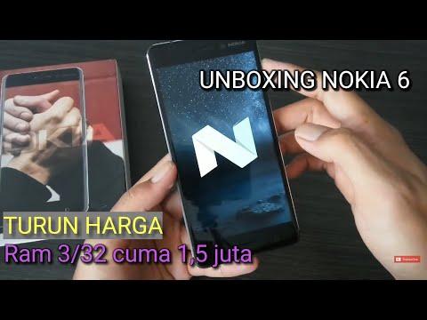 Harga Hancur 1,5 Jutaan! Unboxing Nokia 6 Black Indonesia