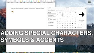 Video How to use special characters, symbols, emojis and accents on Mac - Apple Training download MP3, 3GP, MP4, WEBM, AVI, FLV Agustus 2018