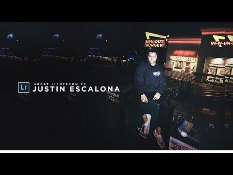 How To Edit Instagram Photos Like JUSTIN ESCALONA! 📸 Lightroom CC Photo Editing Tutorial! (2017)