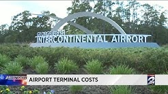 Airport terminal costs