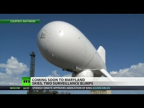 Military Deploying Surveillance Blimps Over Maryland