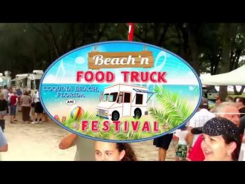 Beach'N Food Truck Festival on Coquina Beach 2017