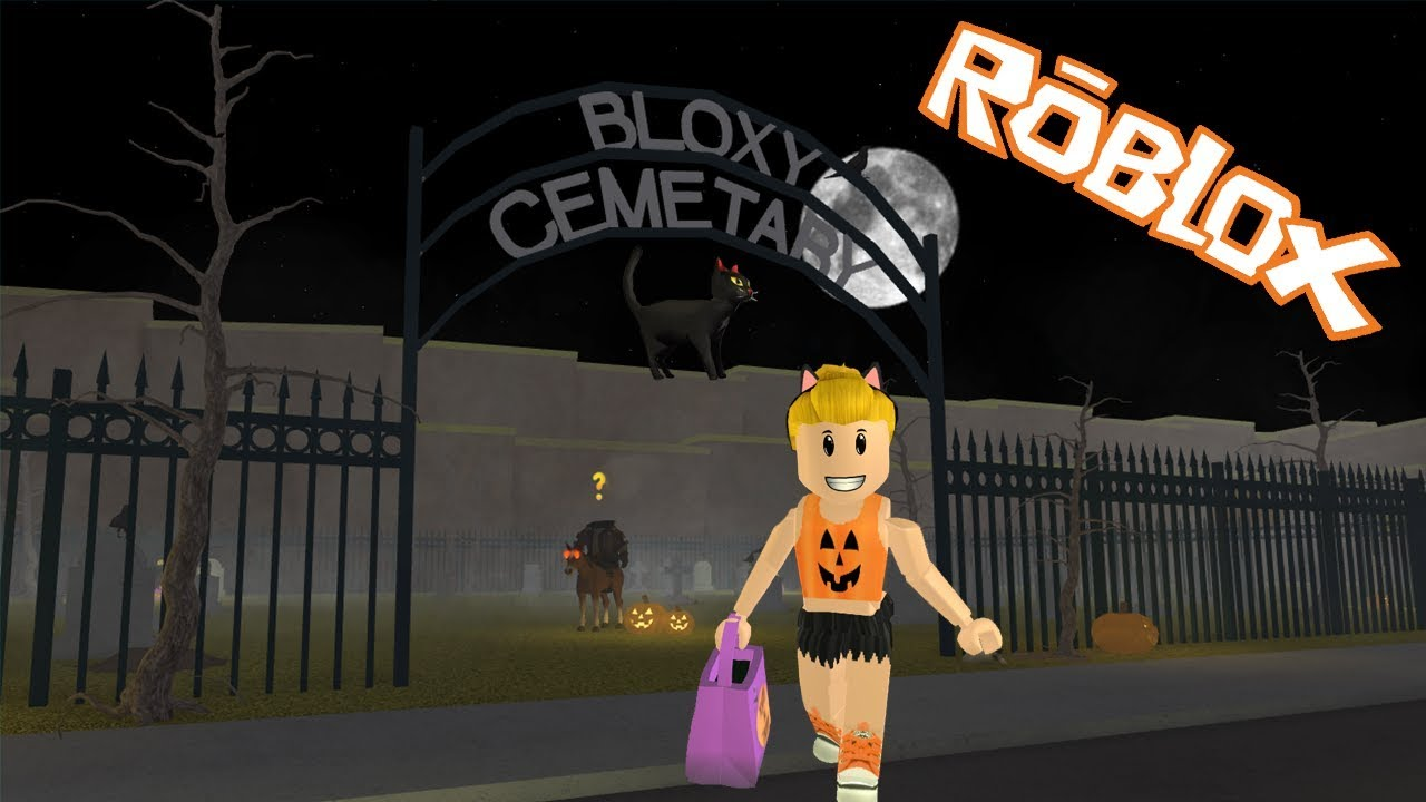 Roblox Escape The Evil Restaurant Obby With Molly Youtube Roblox Halloween Night Trick Or Treat Cat And Ghost Quests By Jenni Simmer