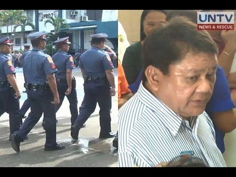 Cebu City Mayor Osmeña, stripped of police escorts
