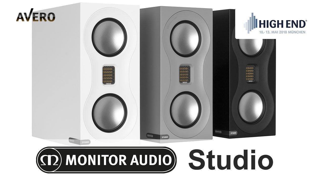 Обзор акустики Monitor Audio Studio ✓ HIGH END 2018 в Мюнхене