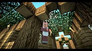 """Моя деревня на сервере minecraft - """"Деревенская жизнь""""_1"""