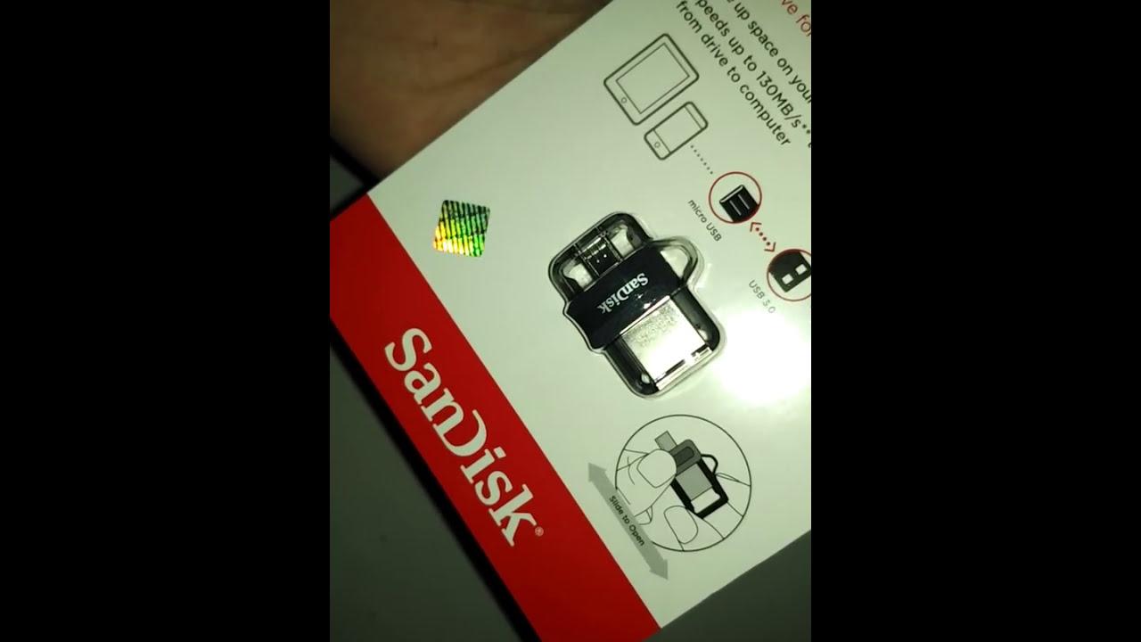 Flashdisk Sandisk Otg 16gb Youtube Flash Disk 64gb