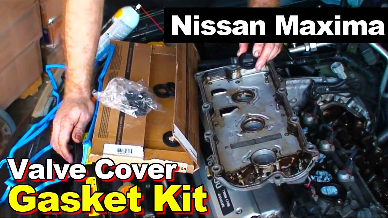 1995 1999 nissan maxima 30l v6 rear valve cover gasket youtube vanachro Images
