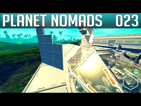 PLANET NOMADS #023 | Probleme mit dem Cockpit | Gameplay German Deutsch