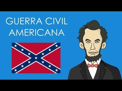 Guerra Civil Americana Guerra De Secessao Resumo Youtube