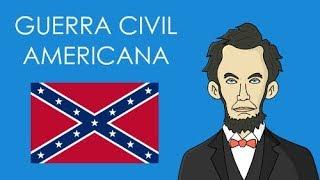 Guerra Civil Americana/Guerra de Secessão (resumo)