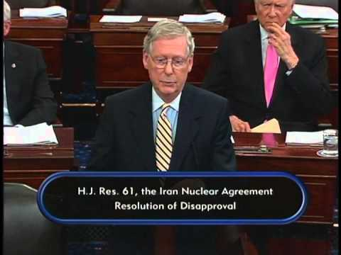 Senate Democrats Filibuster to Protect President's Iran Deal