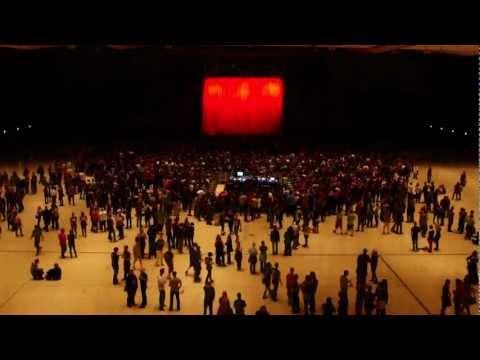 DIE ÄRZTE - Aufbau für das Konzert der besten Band der Welt in der Stadthalle Graz (13.06.2012)