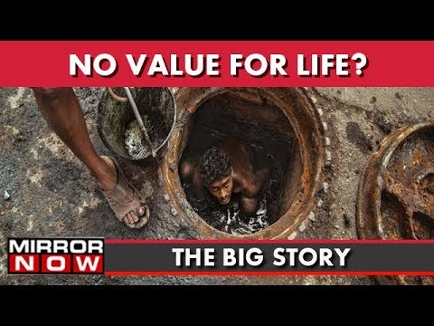 Manual Scavenging Claims Another Life, Contractors Turn Blind Eye I The Big Story